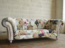 Chesterfield-Sofa / Gewebe / 2 Plätze / 3 Plätze