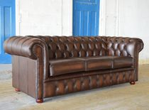 Chesterfield-Sofa / Leder / 2 Plätze / 3 Plätze