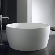 Freistehende badewanne rund  Freistehende Badewanne / Verbundwerkstoff - PG11815 - PG Caststone