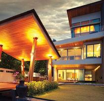 Moderne Wandleuchte / für Außenbereich / aus Aluminium / Legierung