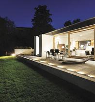 Leuchte für Bodeneinbau / für Wandeinbau / LED / rund