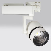 LED-Schienenleuchte / kreisförmig / Aluminium / für Museen