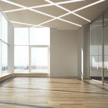 Beleuchtungsprofil zum Einbauen / für Deckenmontage / LED / modulare Beleuchtungssysteme