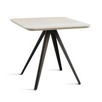 Moderner Tisch / aus Buche / Esche / Metall