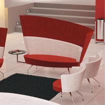 Modernes Sofa / Gewebe / für öffentliche Einrichtungen / für Hotels