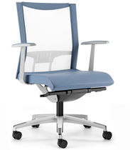 Sessel für Büro / modern / mit Rollen / Armlehnen