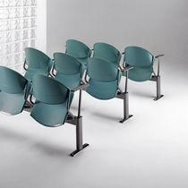 Konferenzstuhl / Hörsaal / modern / aus Metall