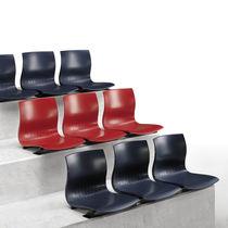 Hörsaalstuhl / modern / Nylon / aus Metall