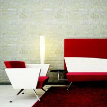 Besuchersessel / modern / Lounge / Gewebe