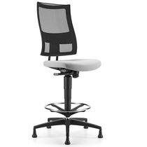 Arbeitshocker / für Büro / modern / Gewebe