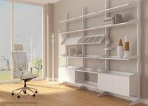 Moderner Zeitschriftenständer / für Wohnbereich / für berufliche Nutzung / aus Metall