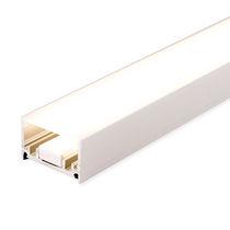 Beleuchtungsprofil zum Einbauen / bodenstehend / LED / modulare Beleuchtungssysteme