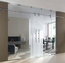 Doppelflügeltür innen  Doppelflügeltür / Innen / zum Schieben / Glas - ALLIA - ALLIAVERRE