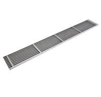 Entwässerungsgitter / verzinkter Stahl / Edelstahl / für öffentliche Bereiche / für Grünflächen