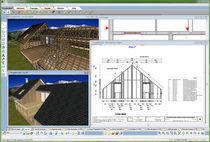 Modellierungssoftware / für Holzkonstruktion / 2D