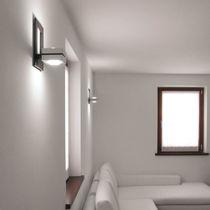 Moderne Wandleuchte / Außen / Holz / LED