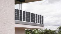 Monokristallines Photovoltaik-Modul / flexibel / für Indach Anlage / für Balkon