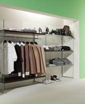 Ablageregal für Kleidungsstücke / für Schuhe / Glas / Gewerbe