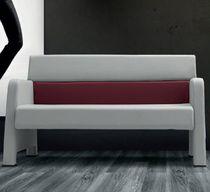 Modernes Sofa / Stoff / Leder / Gewerbe