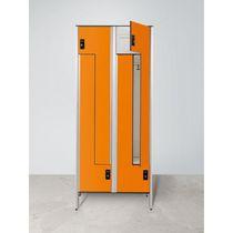HPL-Garderobenschrank / für öffentliche Einrichtungen / für Sportanlage / für Büro
