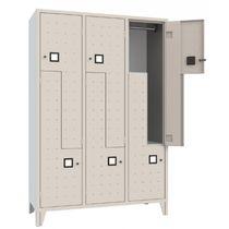 Metall-Garderobenschrank / für öffentliche Einrichtungen / für Sportanlage / für Büro
