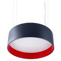 Hängeleuchte / LED / fluoreszierend / rund