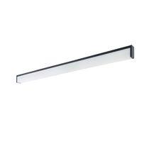 Beleuchtungsprofil für Aufbau / hängend / LED / fluoreszierend