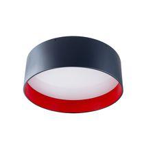 Aufbauleuchte / LED / fluoreszierend / rund