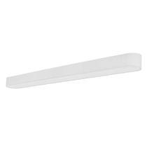 Aufbauleuchte / LED / linear / Stahl