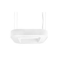 Hängeleuchte / LED / fluoreszierend / quadratisch