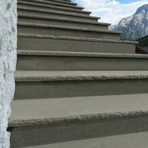 Quarzit-Stufenbelag