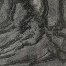 Quarzitsteinplatte / poliert / gebürstet / Fußboden