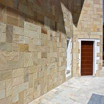 Natursteinwandverkleidung / für Privatgebrauch / strukturiert / für Außenbereich