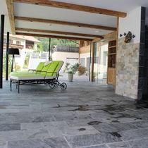 Innenraum-Fliesen / für Poolrand / Boden / Quarzit