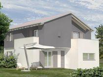 Fertigbauhaus / modern / aus Holz / mit 2 Ebenen