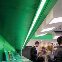 Beleuchtungsprofil für Aufbau / LED / modulare Beleuchtungssysteme / für Eckeinbau
