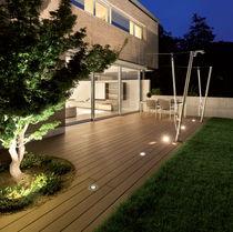 Leuchte für Bodeneinbau / LED / rund / Außen
