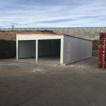Fertigbau-Gebäude / Modul / für Lagerung / für industrielle Nutzung