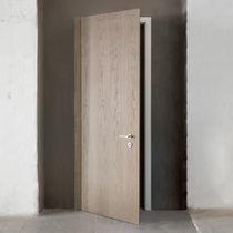 Innenbereich-Tür / einflügelig / Holz / verglast