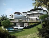 Fassadenverkleidung aus Verbundwerkstoff / Aluminium / glatt / Platten