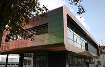 Fassadenverkleidung aus Verbundwerkstoff / Aluminium / reflektierend / Platten