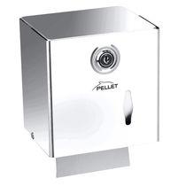 Wandmontierter Toilettenpapierhalter / Edelstahl