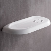 Wandmontiertes Regal / modern / aus Harz / für Badezimmer