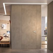 Innenbereich-Tür / einflügelig / aus Eiche / für öffentliche Einrichtungen