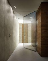 Innenbereich-Tür / einflügelig / Glas / Metall
