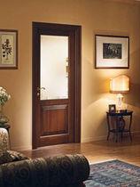 Innenbereich-Tür / einflügelig / Holz / halbverglast