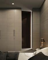 Innenbereich-Tür / für Wandschrank / für begehbare Kleiderschrank / einflügelig