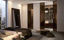 Innenbereich-Tür / für Wandschrank / für begehbare Kleiderschrank / zum Schieben