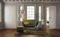 Innenbereich-Tür / einflügelig / Massivholz