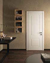 Innenbereich-Tür / einflügelig / aus Eiche / Einbruch